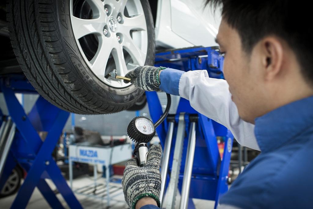 Bảo dưỡng định kỳ lốp xe Kia Morning