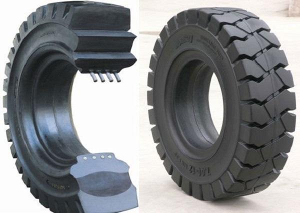 Tìm hiểu về cấu tạo lốp xe nâng hàng